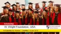 W. Wright foundation grant Program in the United States, 2019