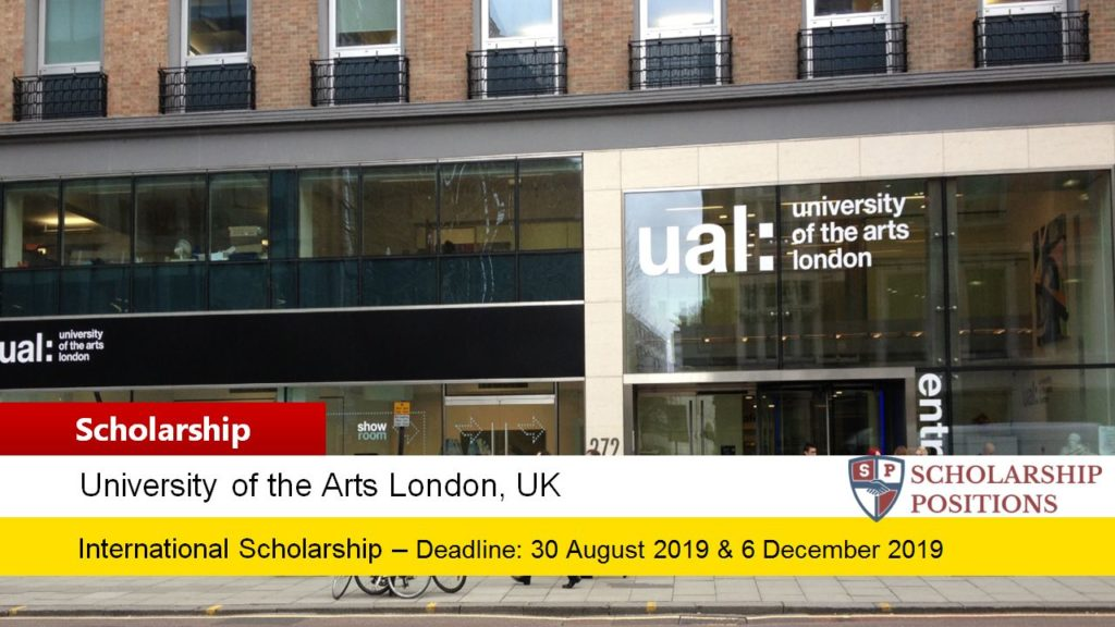 150 UAL UK and EU postgraduate placements 2019-2020