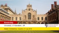 BP MSc Petroleum Data Management Scholarship in the UK, 2019