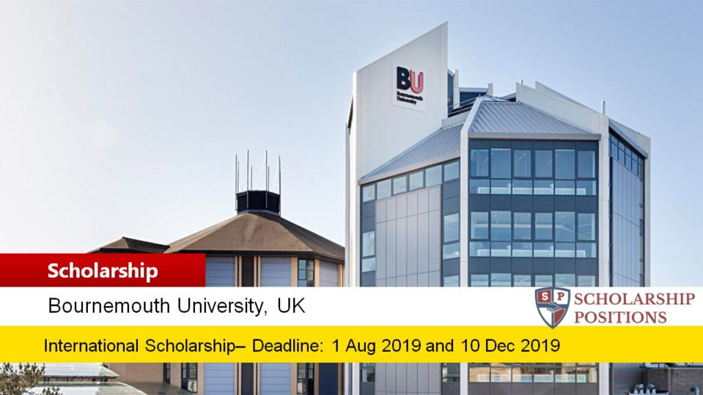 Bournemouth University Academic funding for the UK and EU Students, 2019-2020