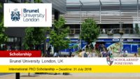 Business School Fully-Funded PhD Studentships for UK and EU Students, 2019