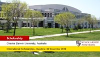CDU Global Excellence Award for International Students in Australia 2020