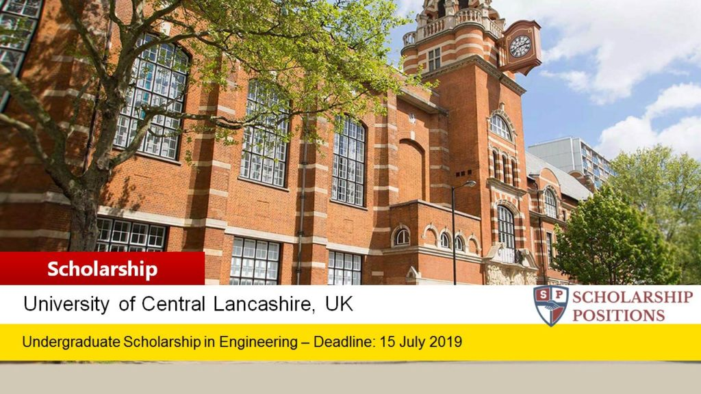 Excellence in Engineering Scholarships for International Students in UK, 2019-2020