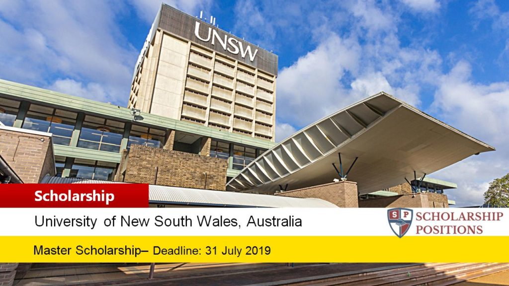 Faculty of Law Postgraduate Coursework Academic Excellence Scholarships in Australia, 2019