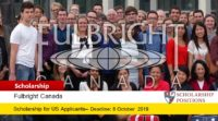 Fulbright Traditional American Student Awards in Canada, 2020-2021