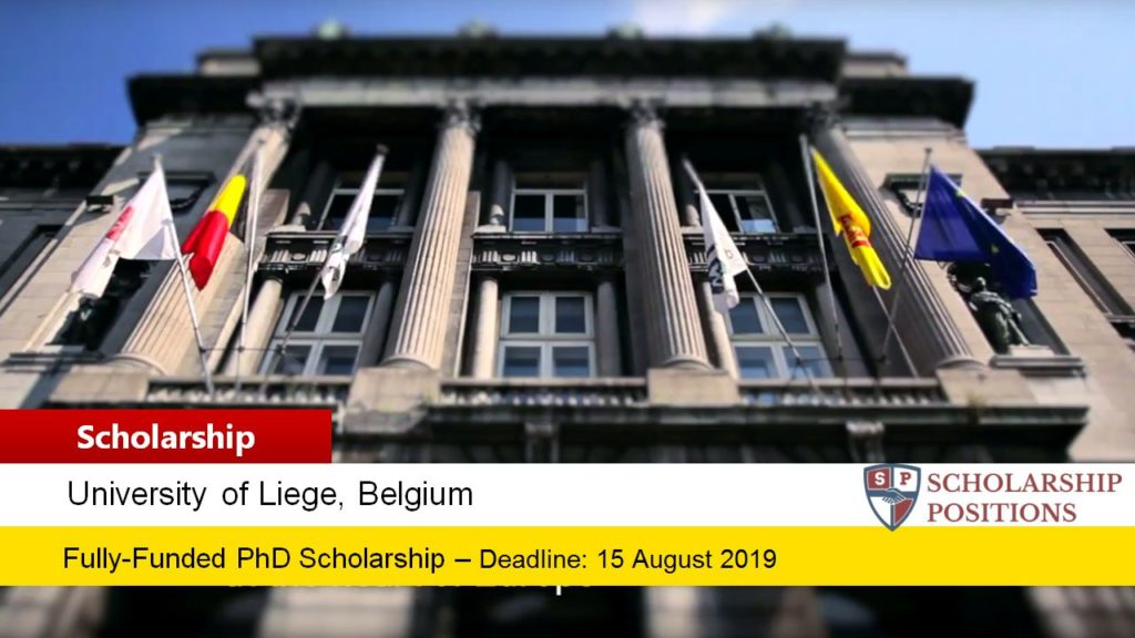 Fully-Funded One Doctoral Position for International Students in Belgium, 2019