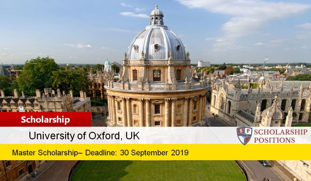 Fully-Funded Rhodes Scholarships for West Africa in the UK, 2020