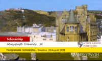 International Postgraduate Excellence Scholarships in the United Kingdom, 2019-2020