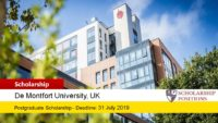 LCBS Full Postgraduate funding for International Students in UK, 2019