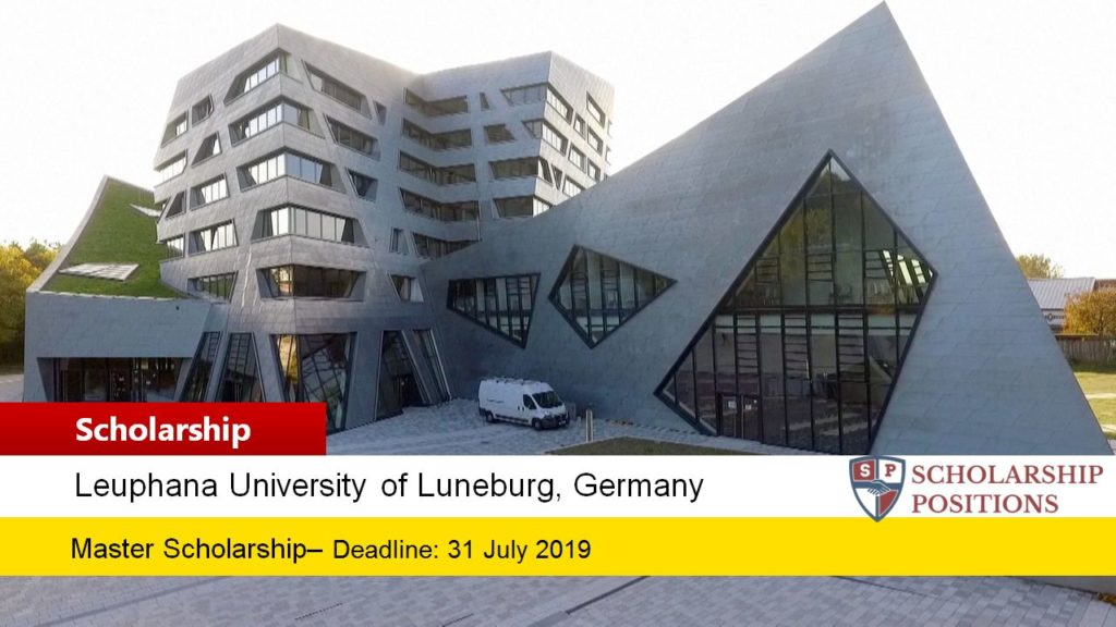 Leuphana University of Lüneburg DAAD Scholarship HELMUT-SCHMIDT in Germany, 2019