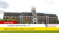 Loughborough University Inspiring Success funding for International Students, 2019