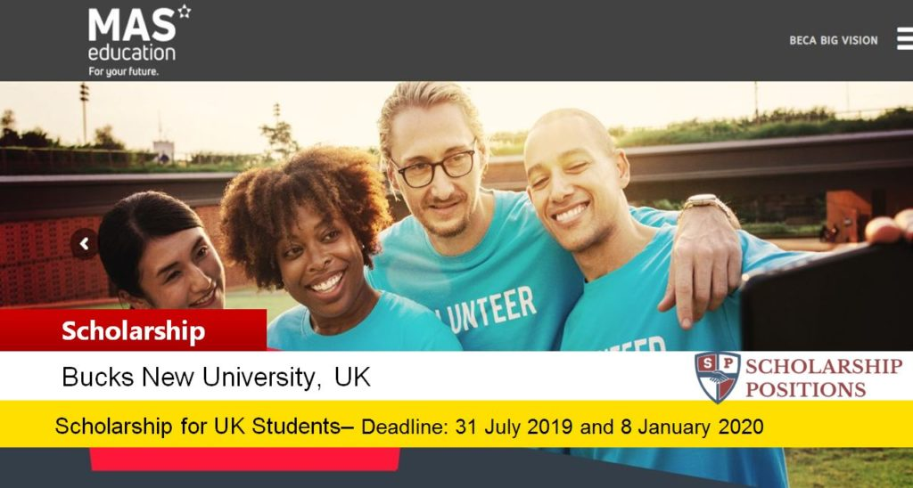 MAS Education Big Vision funding for Colombia Students in UK, 2019
