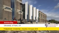 MastersCompare Postgraduate Scholarship at the University of Kent, 2019