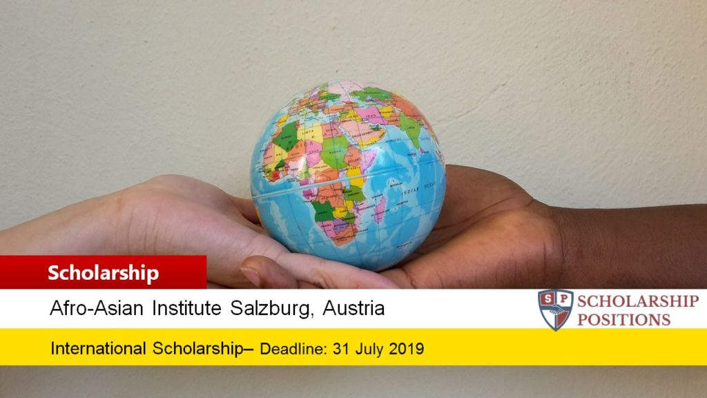 One World Scholarship-AAI Salzburg Grants for Students from Developing Countries in Austria
