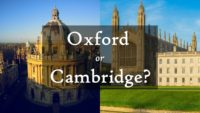 Oxford vs. Cambridge