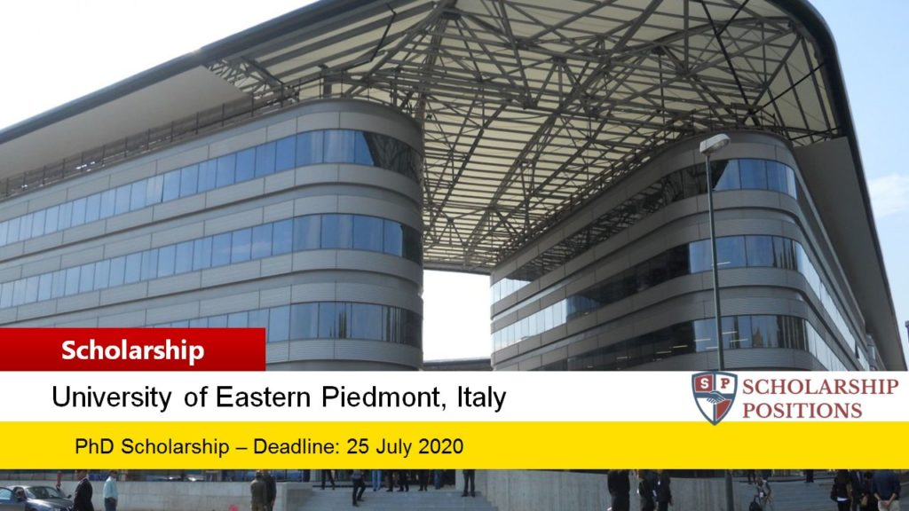 PhD funding for Non-Italian Students in Italy, 2019