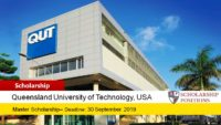 QUT Master of Philosophy Development Scholarships for International Students, 2019