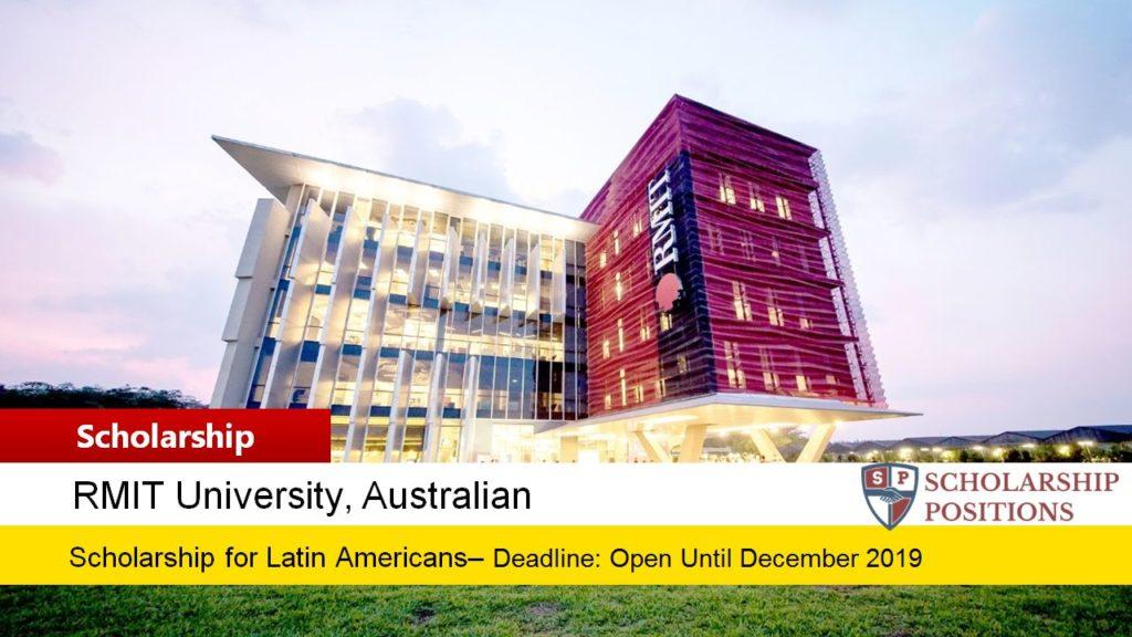 RMIT English Language Bursary for Latin American students in Australia, 2019