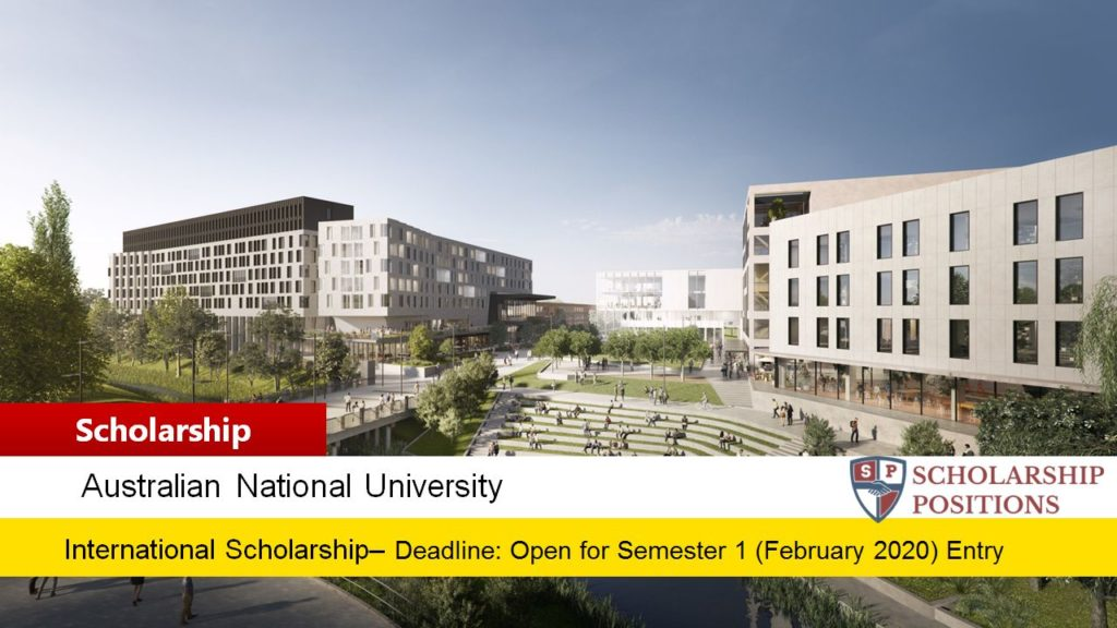 Research School of Accounting South East Asia Merit Scholarship in Australia, 2020