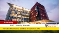 Research Stipend Scholarships for International in Australia, 2020