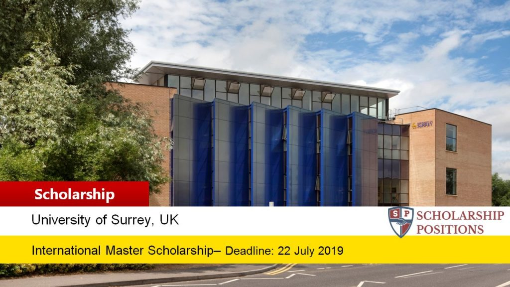 Surrey International funding for Excellence in UK, 2019