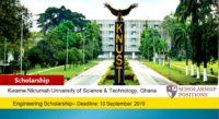 TULLOW funding for Ghanaian Students at KNUST, 2019
