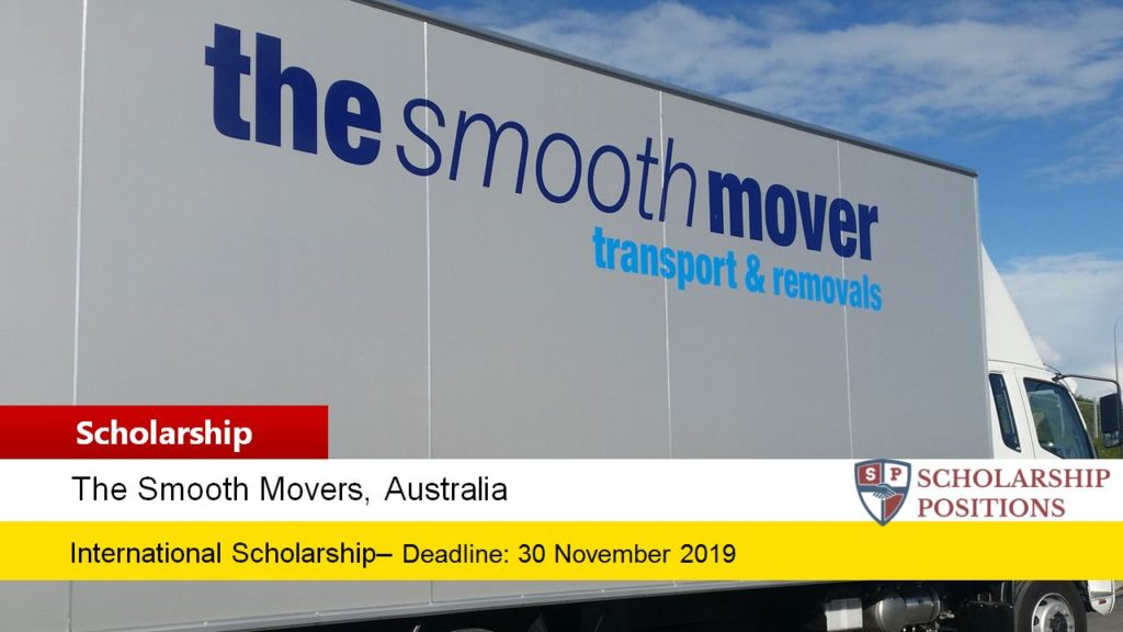 The Smooth Movers funding for International Students in Australia, 2019