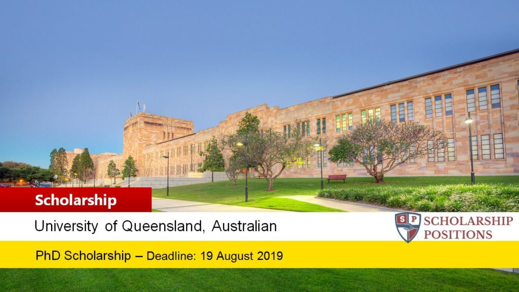 UQ Ian Lindenmayer PhD Top-up funding for International Students in Australia, 2019