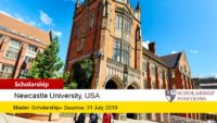 USA Athlete Scholarship in the United Kingdom, 2019