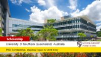USQ Dementia Research PhD funding for International Students in Australia, 2019