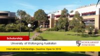 University Excellence Scholarships for International Students in Australia, 2020