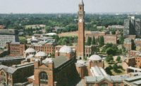 University of Birmingham Fulbright Award for US Students in the UK, 2019