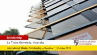 100 La Trobe Access Scholarships for Australian and New Zealand Citizen, 2019