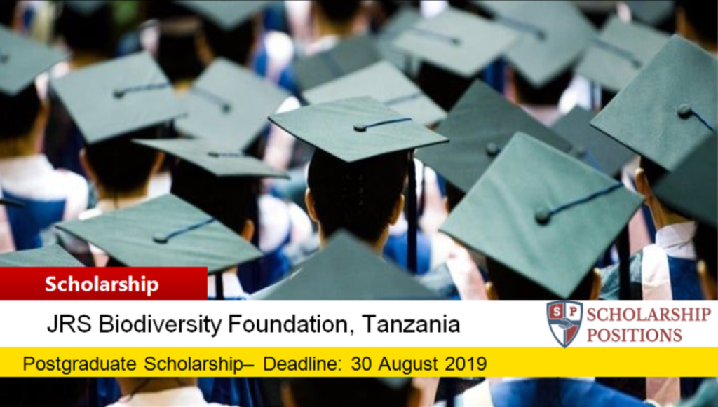 College of African Wildlife Management Scholarship in Tanzania, 2020