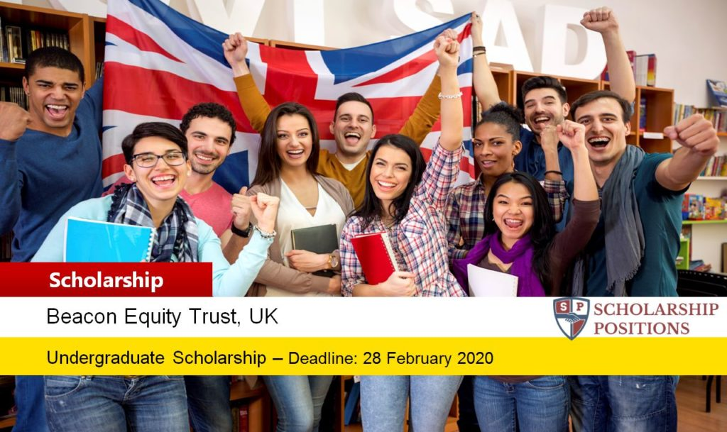 Beacon Equity Trust Scholarships for International Students in UK, 2020