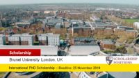 Brunel Colciencias Programme for Columbian Students in the UK