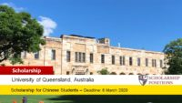 Business funding for Chinese Students in Australia, 2020