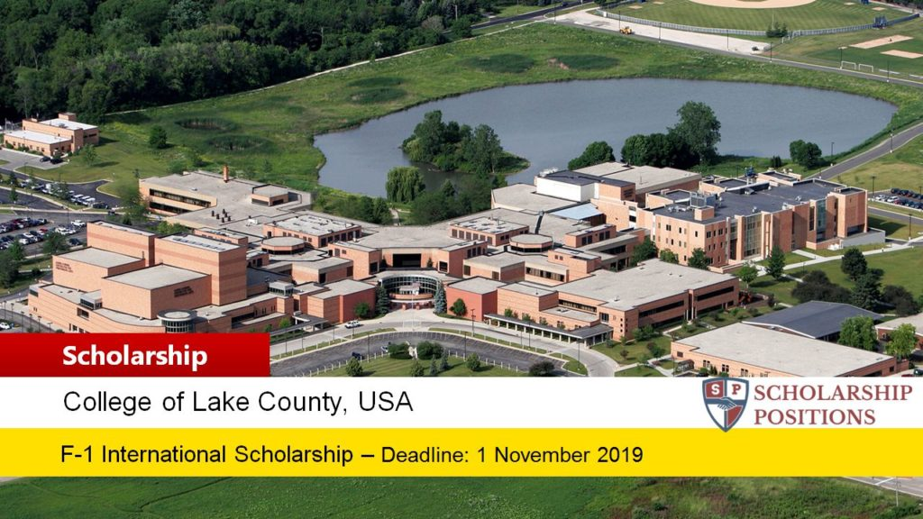 College of Lake County funding for New F-1 International Student in the USA