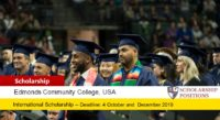 Edmonds Community College International Student Services Scholarships in the USA