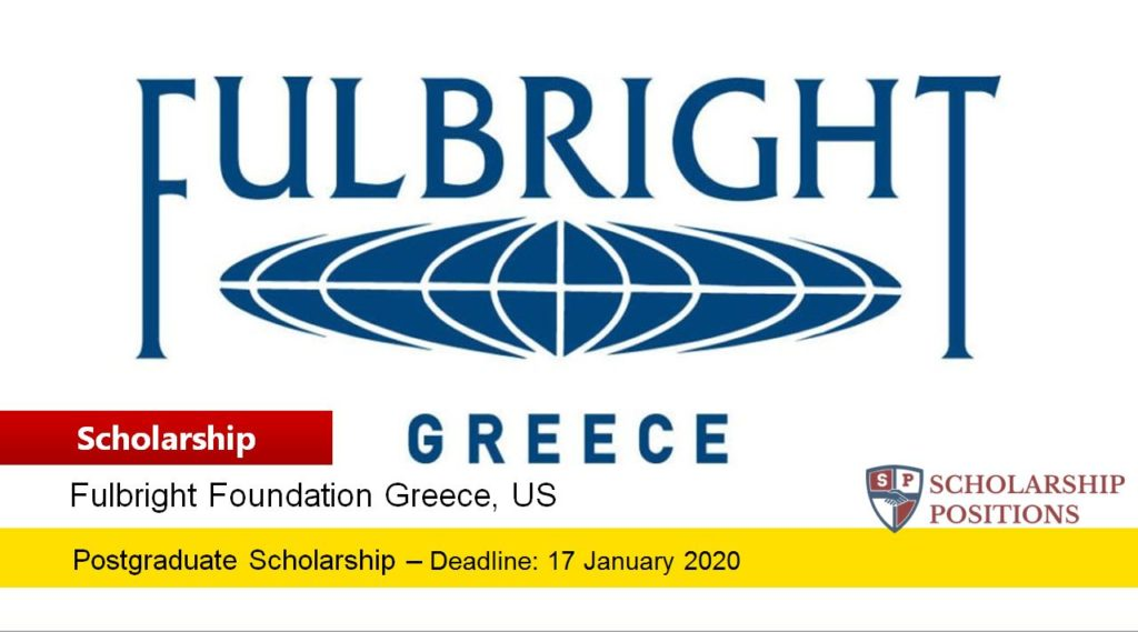 Fulbright Greek Graduate Students Scholarships in the USA, 2020