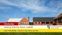 Geelong Grammar School Sport Scholarships for Australian and New Zealand Citizens