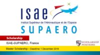 ISAE-SUPAERO Tuition Fees and Scholarships in France, 2019