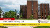 James Madison University #YouAreWelcomeHere International Scholarship in USA