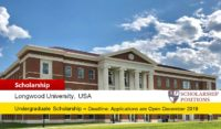Longwood University Merit-based International Scholarship in USA