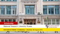 NRU Higher School of Economics International Master Awards in Russia