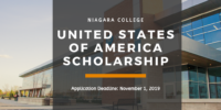 Niagara College United States of America Scholarship in Canada