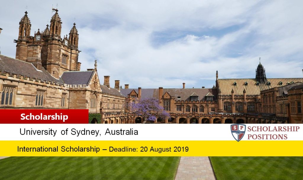 Sydney International Postgraduate Research Tuition Fee Scholarship in Radio Transients, Australia