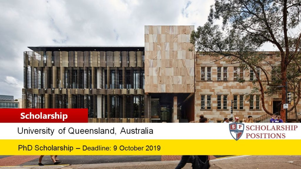The University of Queensland and Ecotourism Australia International PhD scholarships