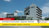 UMY funding for International Students in Indonesia, 2019