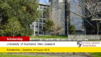 University of Auckland Kupe Leadership Scholarship in New Zealand